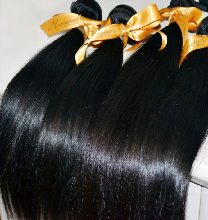 Волосы для бразильского наращивания волос