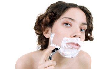 Причины роста волос у женщин на подбородке и как от них избавиться