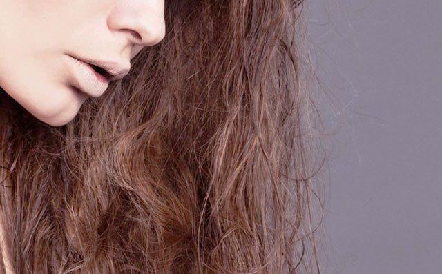 Волосы после мытья