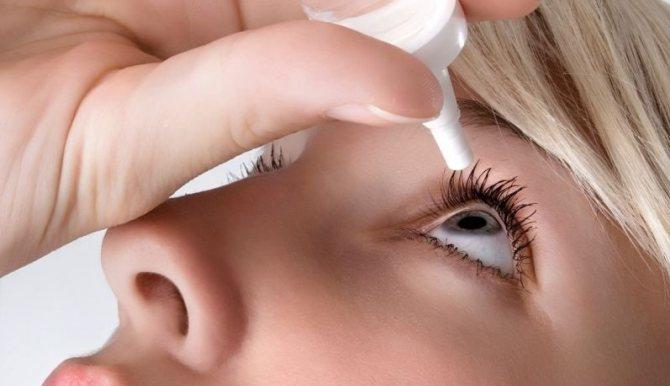Воспаление глаз фото