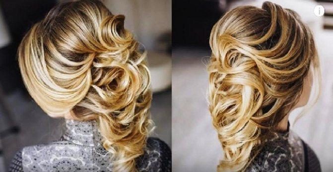Воздушная греческая коса