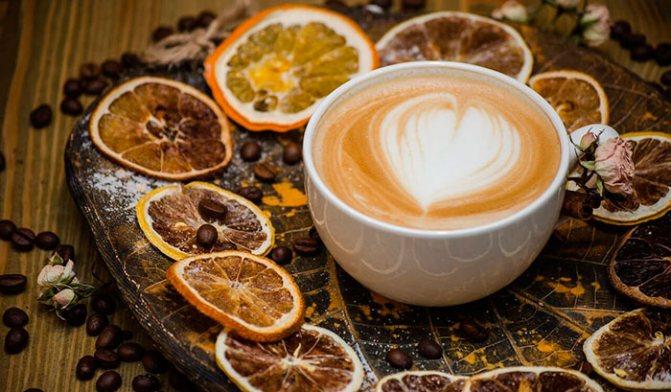 Вред кофе с лимоном