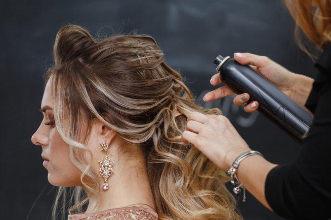 вреден ли лак для волос
