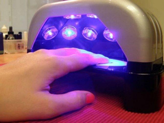 Вредно ли наращивать ногти с применением УФ-лампы