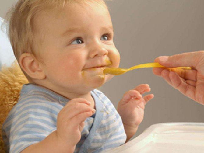 Временной режим питания очень важен для малыша