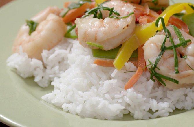 все виды риса и их описание