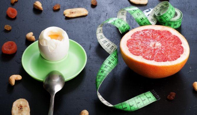 Вторая неделя яично-грейпфрутовой диеты