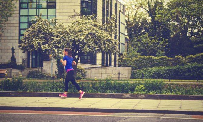 Выбор времени для бега