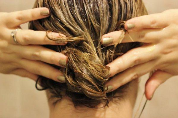 выпрямить волосы с помощью желатина