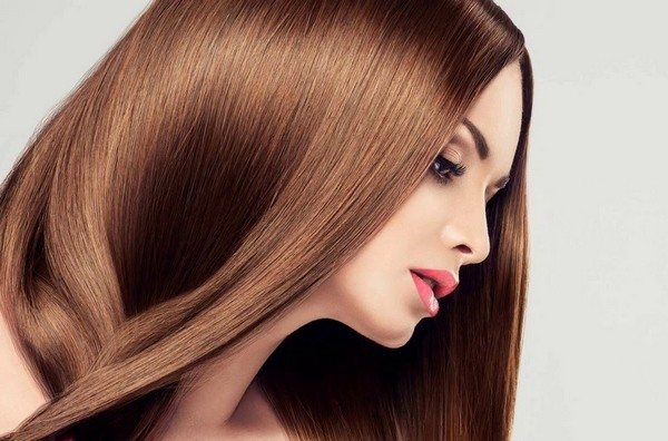 выпрямить волосы