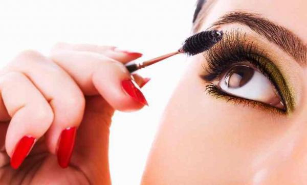выпуклых макияж для глаз
