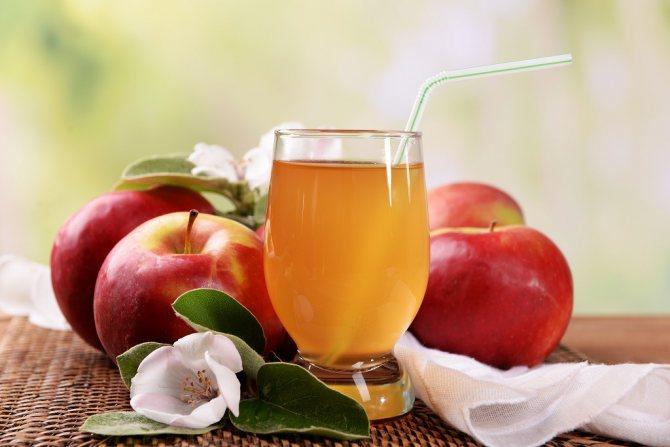 Яблочный фреш: калорийность