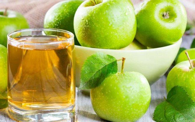 Яблочный фреш: польза