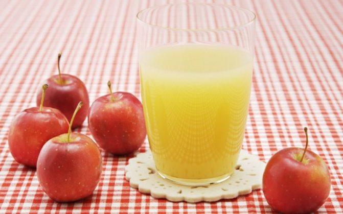 Яблочный сок: польза для организма человека