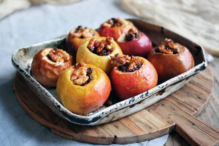 Яблоки печеные польза