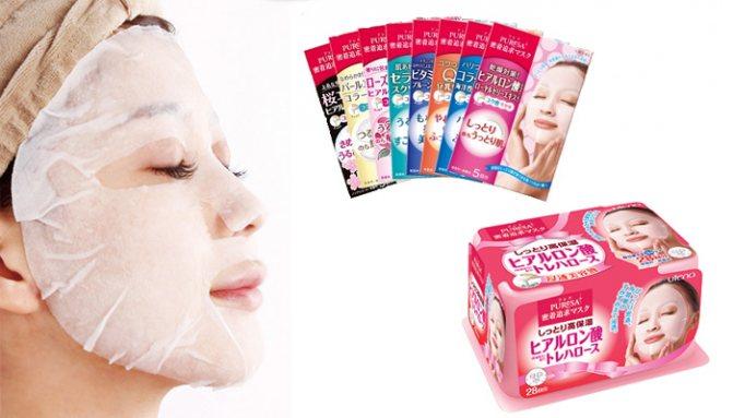 Японские тканевые маски для лица