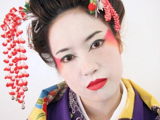Японский макияж для европеек