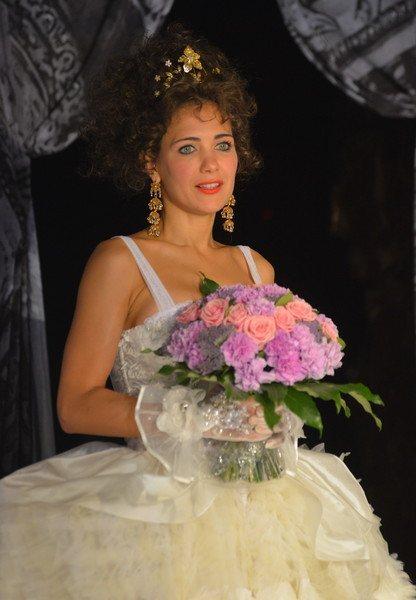 Яркий макияж Екатерина Климова чаще всего использует для сценических образов