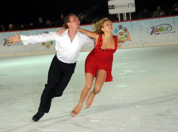 За годы карьеры в большом спорте Татьяна Навка и Роман Костомаров 9 раз побеждали в главных российском, европейском и мировом первенствах (фото 2009 года)