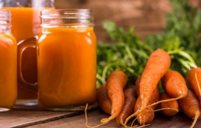 Заготовка морковного сока