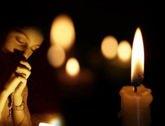 Заговор на горящую свечу