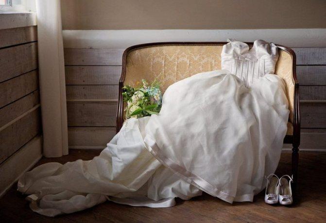 Заговор на свадебное платье
