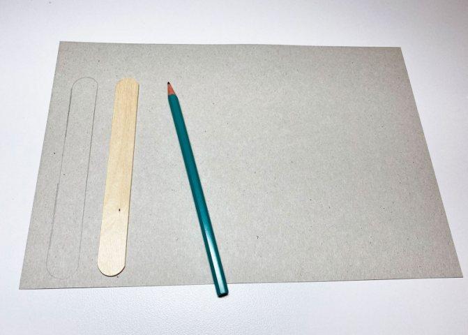 Закладку из бумаги своими руками - шаг 1