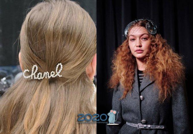 Заколки и аксессуары для волос осень-зима 2019-2020 год