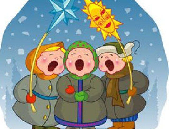 Закончив ритуальный обход, поутру щедровальники шли на перекрёсток сжигать «Деда», или «Дидуха» — снопы соломы, что стояли от Святого вечера до Нового года; потом все прыгали через этот костёр, очищаясь от общения с нечистой силой