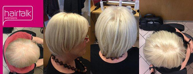 Замещение волос Hair Wear и стрижка каре