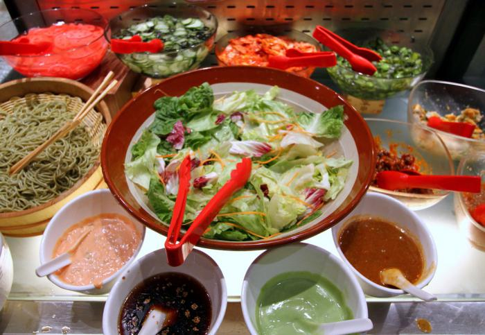заправки для салатов из морепродуктов