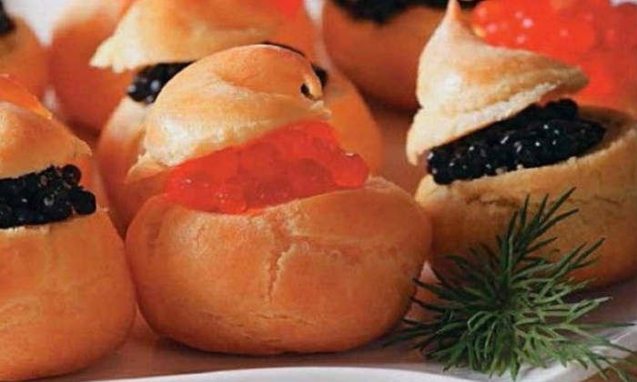 Заварные булочки с начинкой