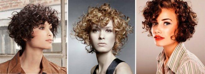 Завивка волос на длительное время на короткие волосы