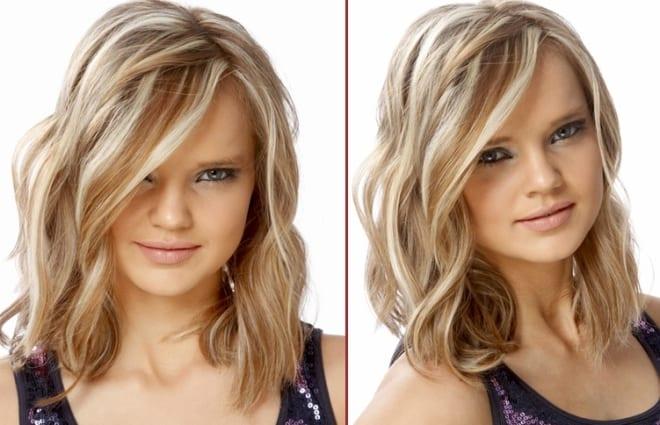 Завивка волос на длительное время на средние волосы