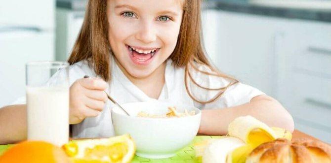 Завтрак для школьника