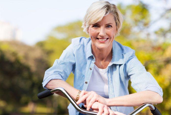 Здоровая женщина 50 лет