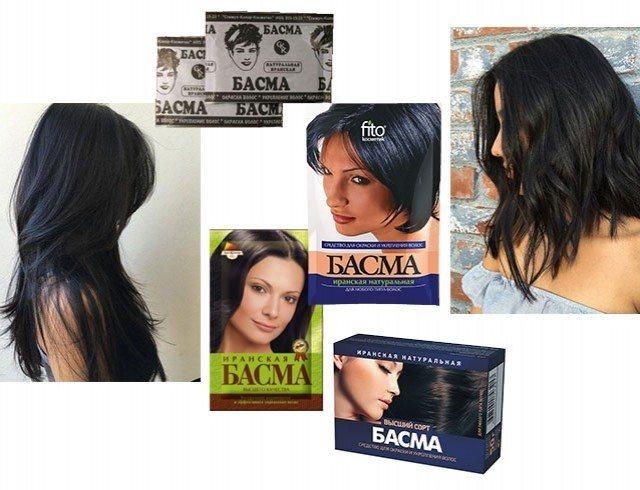 Здоровое окрашивание: как покрасить волосы в черный цвет с помощью басмы
