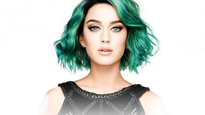 зеленая краска для волос фото