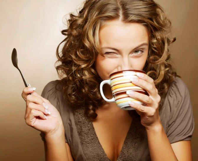 Зеленый чай благотворно влияет на женский организм