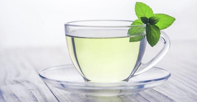 Зеленый чай очищает организм от шлаков