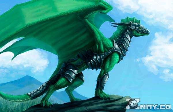 Зеленый дракон 2024