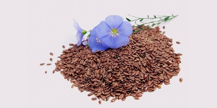 Зерна льна для похудения