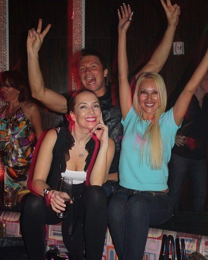 Жанна с друзьями Сергеем Лазаревым и Лерой Кудрявцевой.
