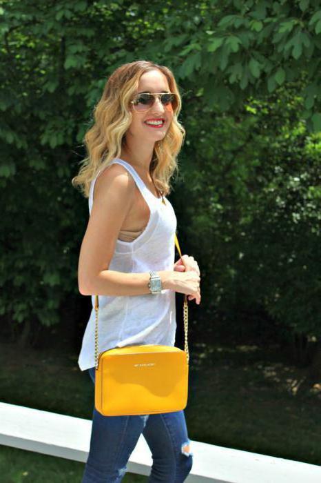 желтая сумка с чем носить фото