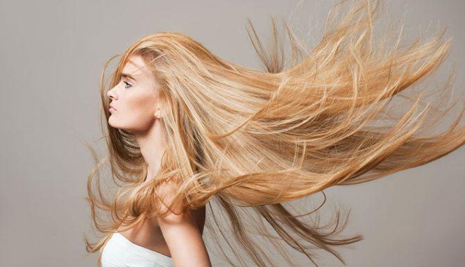 Желтизна волос