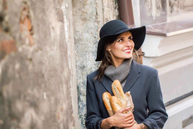 женщина франция стиль романтика