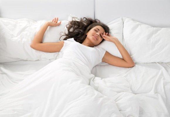 Женщина проснулась отдохнувшей