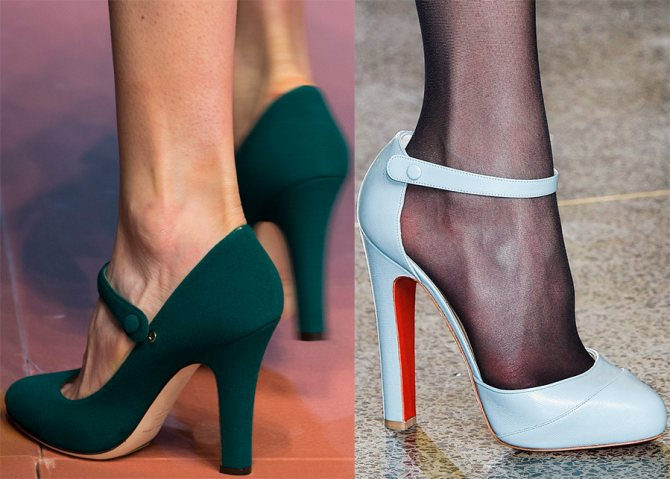 Женская обувь в стиле Мэри Джейн