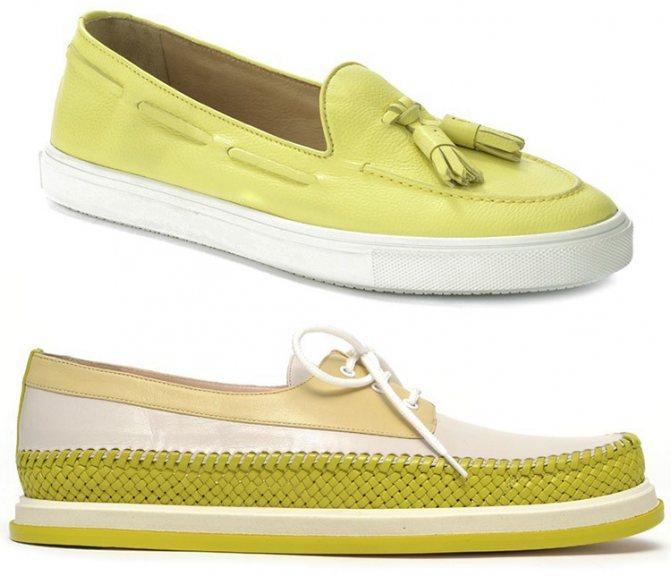 женская обувь весна–лето 2015