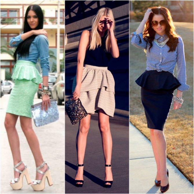 Женская одежда шик шарм - красивые юбки